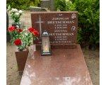 Cmentarz Grabiszyn we Wrocławiu Jarosław Deutschman (21.01.1918-19.06.1989) Lucyna Deutschman, z domu Jóżwiak (03.01.1925-31.08.2015)